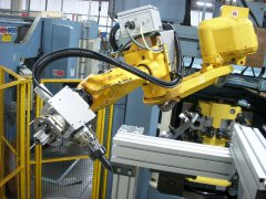 IN-LINE 6 MACHINE TOOLS COMPLETE AUTOMATION